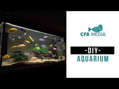 DIY | Aquarium Fish Tank | Step-by-step With In 10mins From Kolathur Expert | #6