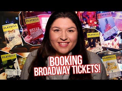 How I Bought My BROADWAY Tickets (2018) 🎟🎭 (Waitress, Dear Evan Hansen, Wicked ETC!)