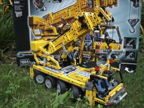Lego 8421 Pneumatic Cran truck with Motor Top Model