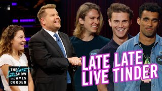 Download Late Late Live Tinder - Seeking a Strong Jawline Mp3 and Videos