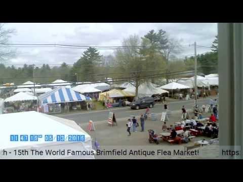 BrimfieldAntiqueFleaMarket.com Live Stream