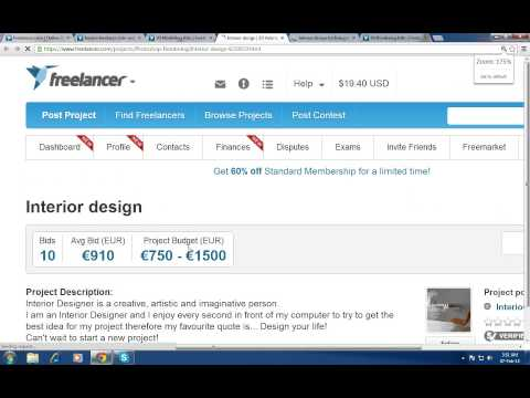 How to bid project in freelancer.com