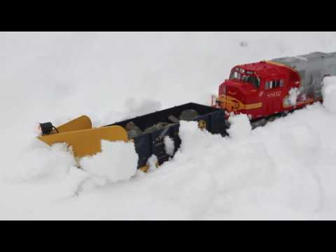 Thumbnail: Plowing Snow on the Railroad