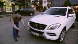 2012 Новый Mercedes-Benz ML 350 (W166) / Тест-драйв