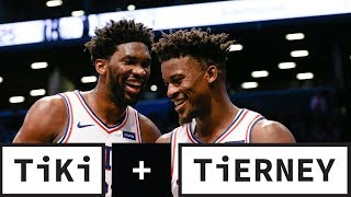 Joel Embiid adjusts after Jimmy Butler trade | Tiki + Tierney