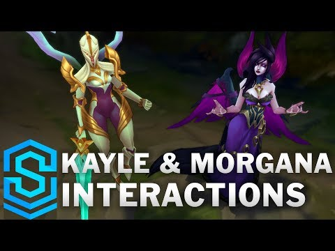 Kayle and Morgana Special Interactions