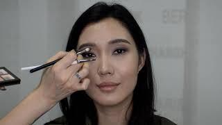Дневной Макияж для азиатских глаз Julia Shavlova