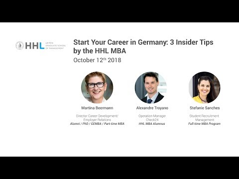 Start Your Career in Germany with HHL Leipzig