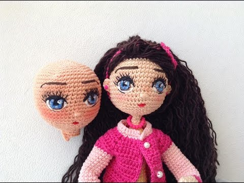 Como bordar ojos muñeca Livia amigurumis By Petus PRIMERA PARTE ... db0dc0f71c7
