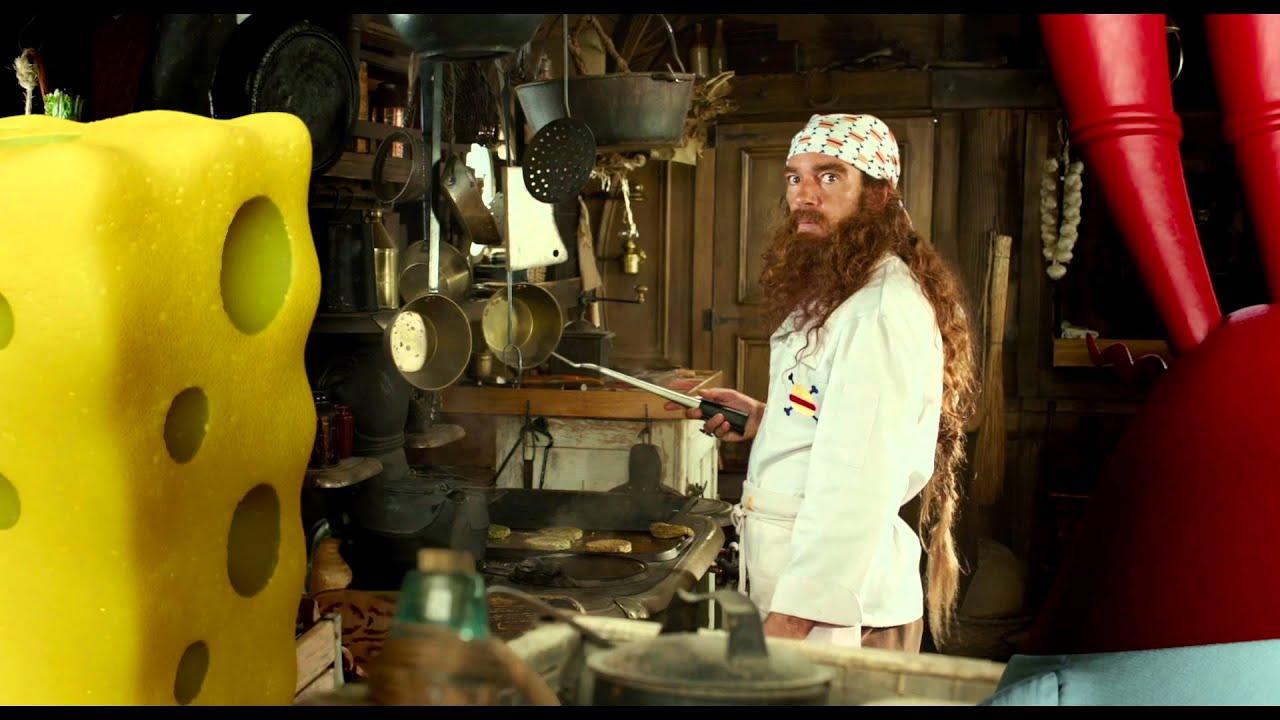 ГУБКА БОБ: ЖИТТЯ НА СУШІ / ГУБКА БОБ: ЖИЗНЬ НА СУШЕ. Трейлер 2 (український)