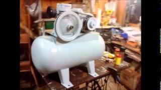 Arreglando un compresor de aire comprimido