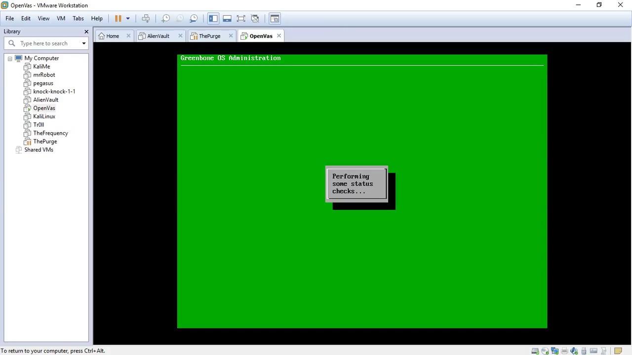 OpenVas GreenBone Installation Part 2