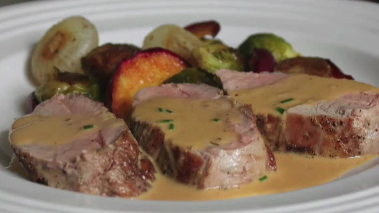 Pork loin recipes with mustard sauce