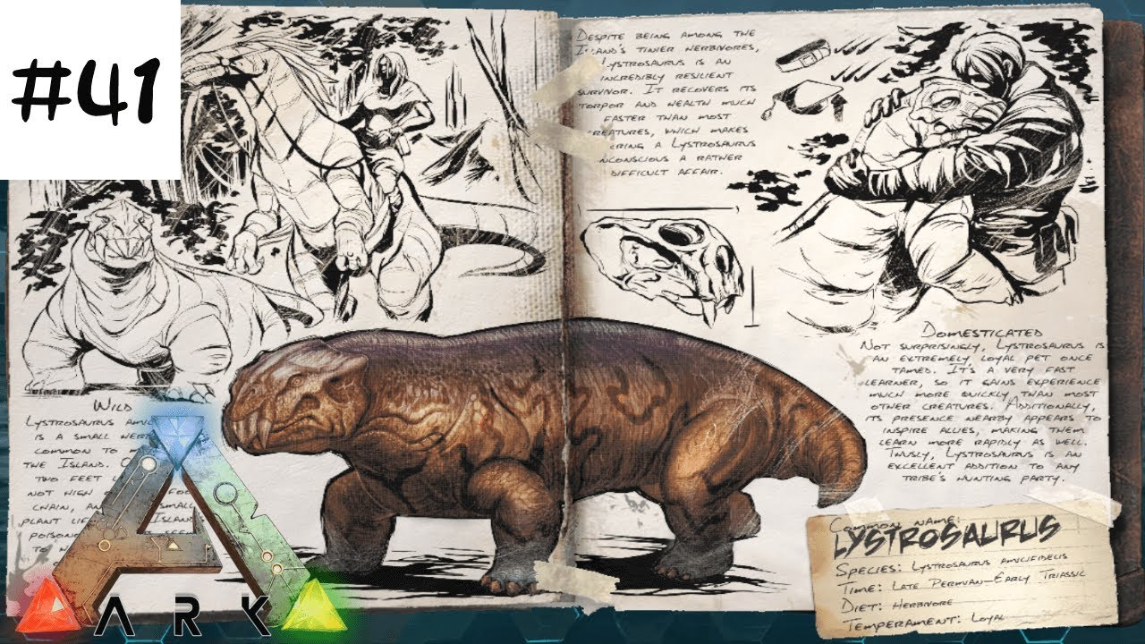 Ark Ps441 生物調査 リストロサウルス編ark Survival Evolved