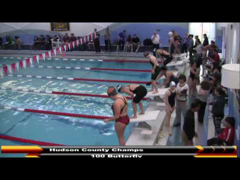 MHS Swimming Hudson County Championships (DAY 2) 2-22-17