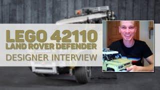 LEGO Technic 42110 Land Rover Defender: Designer Interview