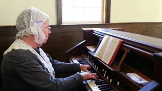 Pump Organ playing in the Chapel