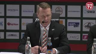 1878 TV | Pressekonferenz 14.10.2018 Augsburg-Wolfsburg 6:0