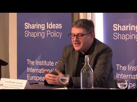 Professor Mark Galeotti - Russia and The West: Moving Beyond the Hybrid War Illusion