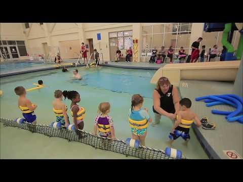 Preschool swim class @ YMCA - Pike