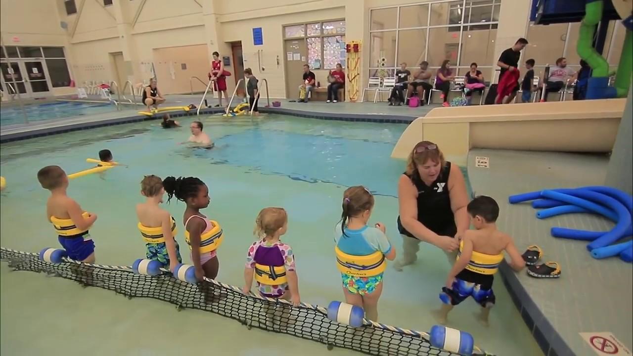 Preschool swim class @ THE YMCA - Pike