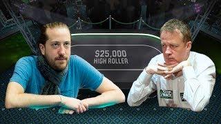 Dara O'Kearney makes a HUGE HAND versus Steve O'Dwyer in a $25k High Roller!