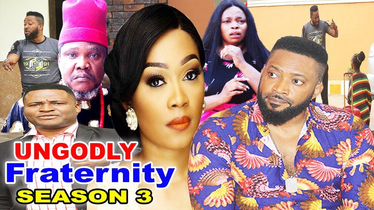 Download UNGODLY FRATERNITY SEASON 3-(Trending New Movie)Fredrick Leonard 2021 Latest Nigerian Movie Full HD