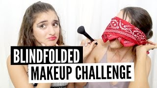 BLINDFOLDED MAKEUP WITH MY SISTER-IN-LAW (SOON)