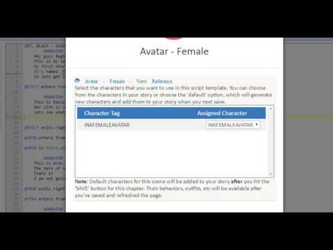 Episode Interactive Tutorial : Letting the reader customise and name their character