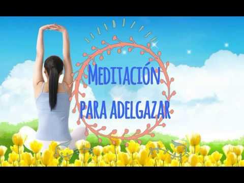 Meditar para bajar de peso