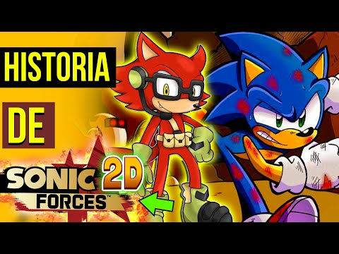CONSERTARAM O SONIC FORCES 😍| HISTORIA Sonic FORCES 2D