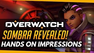 SOMBRA REVEALED - Hands On Impressions | Overwatch