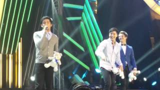 James Reid, Daniel Padilla & Enrique Gil at ABS-CBN Christmas Special 2015