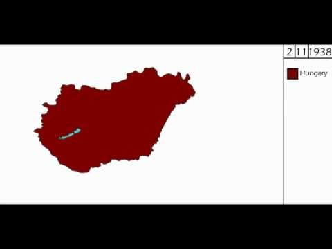 Territorial expansion of Kingdom of Hungary 1920 - 1941