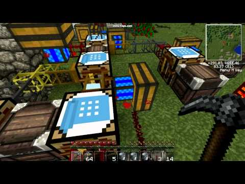 Minecraft Technic Pack Diamond Generator