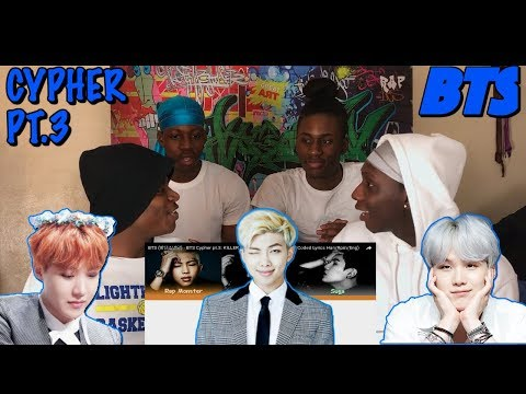 BTS (방탄소년단) - BTS Cypher pt.3: KILLER (feat. Supreme Boi) - REACTION