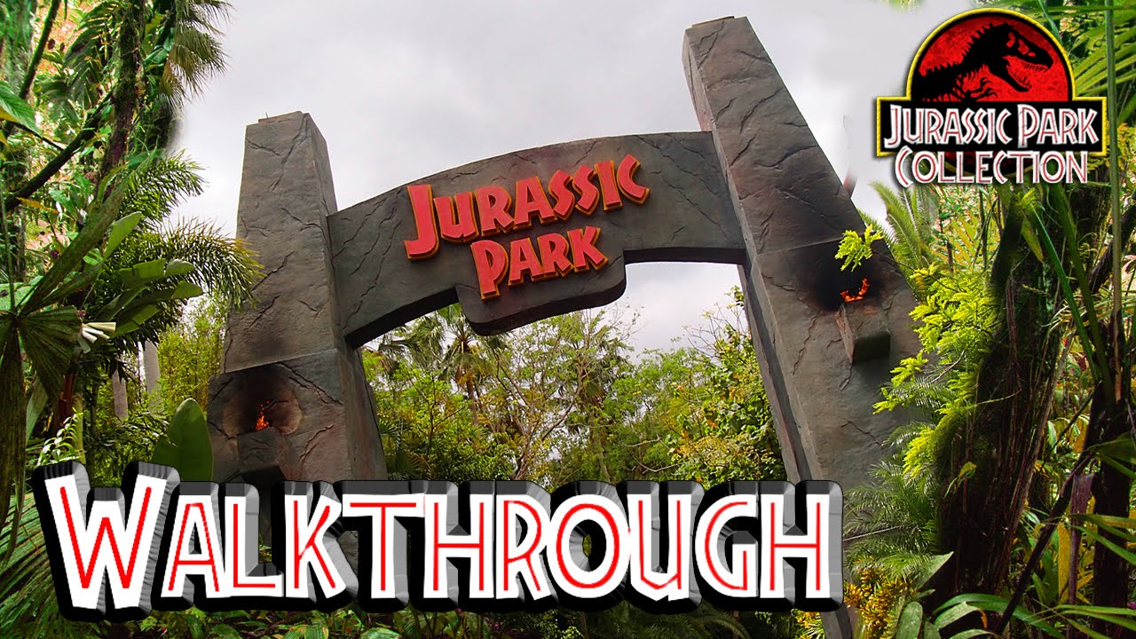 Welcome To Jurassic Park Universal Studios Florida Youtube