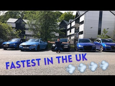 THE BEST AUDI RS3 MEET IN THE UK !!! **FASTEST IN THE UK**