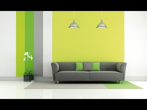 decoracion de salas de color verde youtube