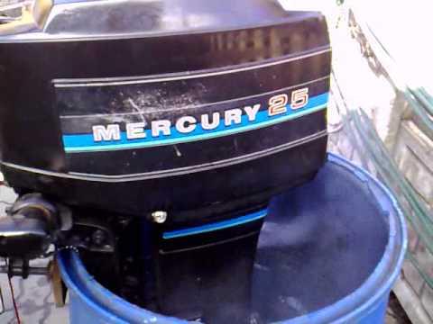 Mercury 25 Hp Outboard Motor 1980r 2 Stroke Dwusuw