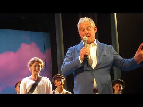 Half A Sixpence - Last Performance - Sir Cameron Mackintosh Speech