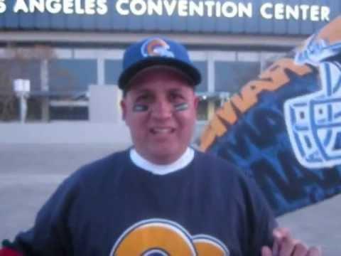 LA Rams Rally @LA KINGS Pre-Game