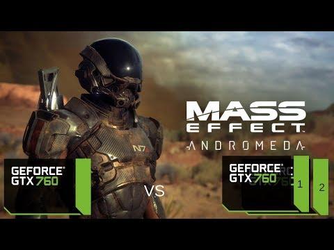 Mass Effect Andromeda SLI vs Single GTX 760