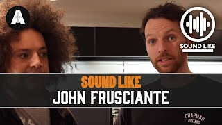 Download Sound Like John Frusciante - BY Busting The Bank MP3 song and Music Video