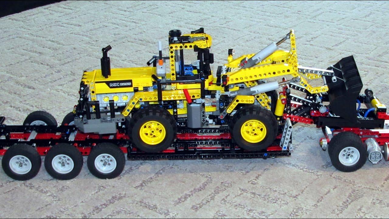 lego front loader instructions