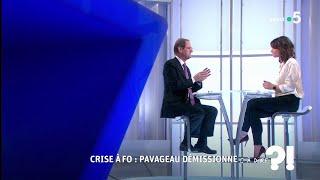 Crise à FO : Pavageau démissionne #cadire 17.10.2018