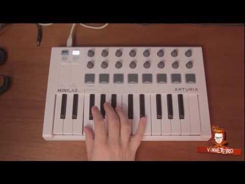 Arturia MiniLab MKII Keyboard Performance Test