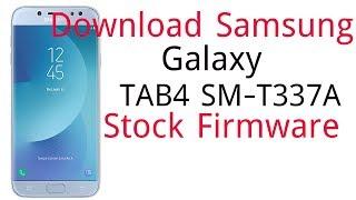 Download Samsung Galaxy TAB4 SM-T337A Stock Firmware
