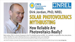 Solar PV Mythbusting - How reliable are Photovoltaics Really?