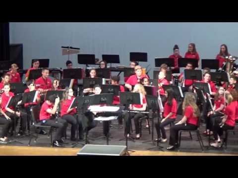 Canfield Village Middle School 7th Grade Band Spring Concert 5.17.17